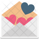 Correspondence Heart Sign Love Inspiration Icon
