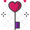 Love Key Key Love Icon