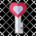 Love Key Love Valentine Icon