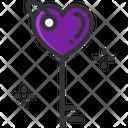 M Key Love Key Secure Love Icon