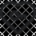 Love Lock Key Icon