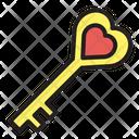 Key Lock Security Icon