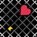 Love Key Heat Icon