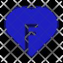 Love Key Heart Key Love Icon