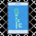 Love Key Key Mail Icon