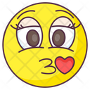 Love Kiss Emoji Icon