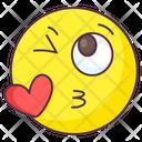Love Kiss Emotion Icon