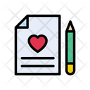 Love File Document Icon
