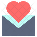 Letter Message Heart Icon