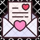 Love Latter Letter Romantic Icon