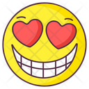 Love Laughter Emoji Love Expression Love Laughter Emotag Icon