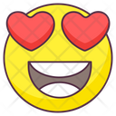 Love Laughter Emoji Love Expression Emotag Icon