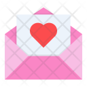 Letter Greetings Wishes Icon