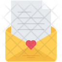 Letter Envelope Love Icon