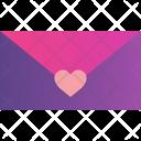 Love Mail Happiness Valentine Icon