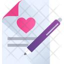 Love Letter Love Message Love Icon
