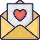 Letter Love Greeting Love Letter Icon