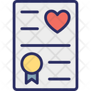 Heart Love Greeting Love Letter Icon