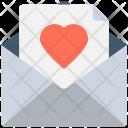 Love Letter Romantic Icon