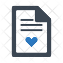Document Letter Love Icon