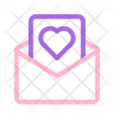 Love Letter Envelope Icon