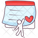 Love Letter Love Diary Love Note Icon
