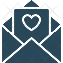 Letter Love Letter Heart Icon