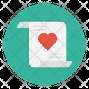 Loveletter Document Sheet Icon