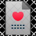 File Love Romance Icon