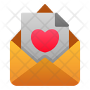 Love Letter Mail Communication Icon