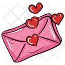 Love Letter Love Message Love Note Icon