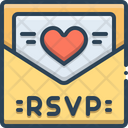 Rsvp Card Invitation Icon
