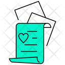 Love Letter Document Icon
