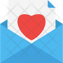 Love Letter Love Message Envelope Icon