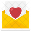Love Letter Love Message Envelope Icon