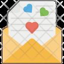 Love Message Couple Communication Romantic Texts Icon