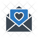 Loveletter Message Heart Icon