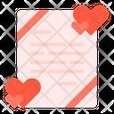 Card Love Valentines Icon