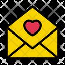 Love Message Inbox Icon