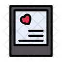 Loveletter Card Valentine Icon
