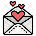 Envelope Love Invitation Icon
