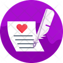 Love Letter Love Message Love Chat Icon