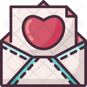 Love Letter Message Email Icon