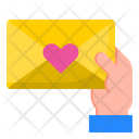 Love Letter Email Hand Icon
