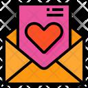Love Letter Letter Valentine Icon