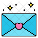 Love Letter Envelope Love Icon