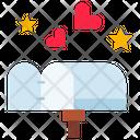 Love Letter Letter Box Box Icon
