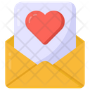 Love Letter Love Document Mail Icon