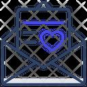 Letter Love Letter Envelope Icon