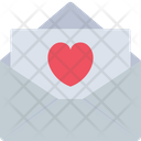 Love Letter Love Mail Love Message Icon